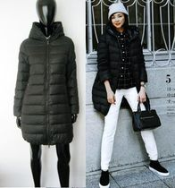 DUVETICA Wool Plain Down Jackets