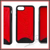 Christian Louboutin Unisex Bi-color Plain Smart Phone Cases