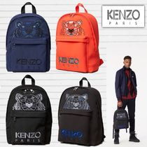KENZO Nylon A4 Plain Other Animal Patterns Home Party Ideas