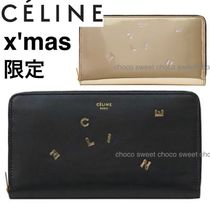 CELINE Calfskin Special Edition Long Wallets