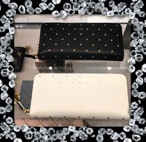 Christian Dior Leather Long Wallets