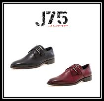 J75 by JUMP Monk Faux Fur Plain Loafers & Slip-ons