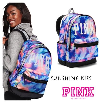 Victoria S Secret Backpacks Casual Style Tie Dye A4