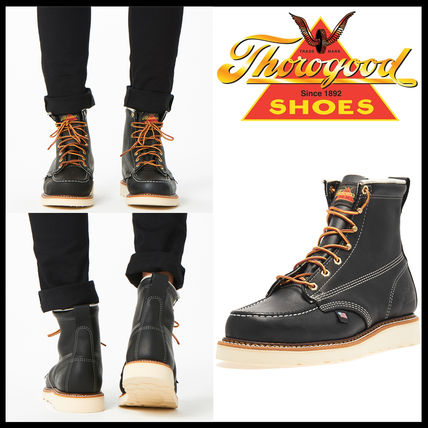Casual Style Unisex Street Style Leather Shoes