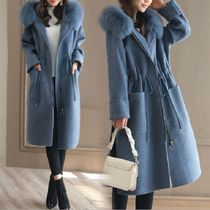 Casual Style Wool Street Style Plain Medium Wrap Coats