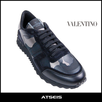 5af1b394d43 ... VALENTINO Loafers   Slip-ons Camouflage Street Style Leather Loafers ...
