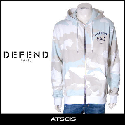 Camouflage Street Style Cotton Hoodies