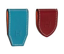 HERMES Unisex Plain Leather Wallets & Card Holders