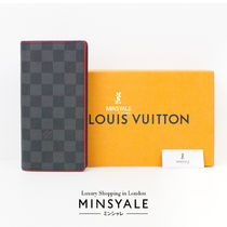 Louis Vuitton BRAZZA WALLET [London department store new item]