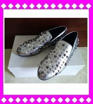 Jimmy Choo Studded Loafers & Slip-ons