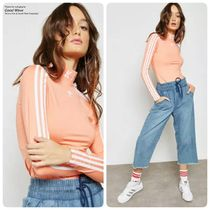 adidas Long Sleeves Plain High-Neck Tops