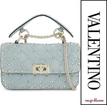 VALENTINO Dots Casual Style 2WAY Shoulder Bags