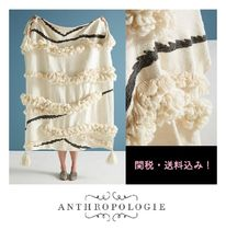 Anthropologie Plain Special Edition Fringes Ethnic Throws