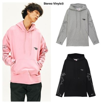 Pullovers Unisex Street Style Long Sleeves