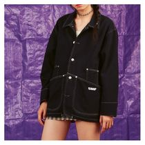 UNIF Clothing Casual Style Plain Medium Jackets