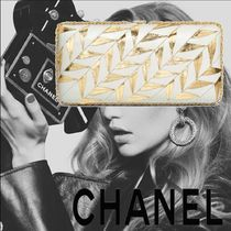 CHANEL Calfskin Party Style Clutches