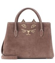 Charlotte Olympia Casual Style Suede 2WAY Plain Other Animal Patterns