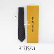 Louis Vuitton DAMIER CLASSIQUE TIE [London department store new item]