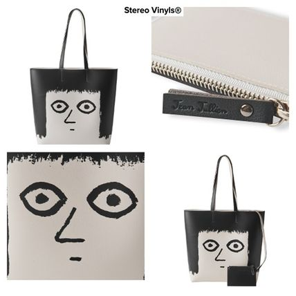 Casual Style Unisex Street Style PVC Clothing Shoulder Bags
