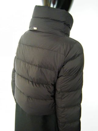 HERNO Down Jackets Blended Fabrics Plain Down Jackets 14