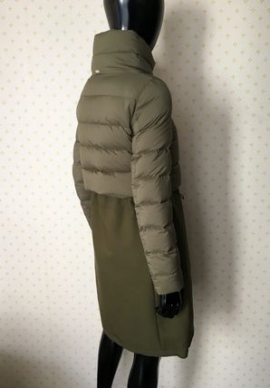 HERNO Down Jackets Blended Fabrics Plain Down Jackets 18