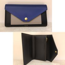 CELINE Pocket Trifolded Long Wallets