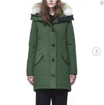 CANADA GOOSE ROSSCLAIR Street Style Plain Medium Down Jackets