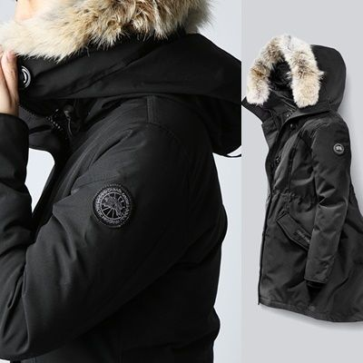 CANADA GOOSE Down Jackets Plain Medium Down Jackets