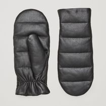 COS Casual Style Plain Leather Leather & Faux Leather Gloves