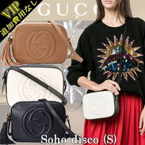 GUCCI Soho 2WAY Leather Elegant Style Shoulder Bags