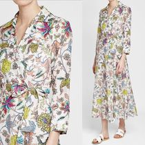 DIANE von FURSTENBERG Flower Patterns Dresses