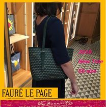 Faure Le Page Casual Style Canvas Totes