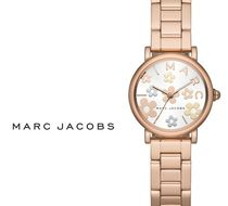 Marc by Marc Jacobs Round Quartz Watches Stainless Elegant Style Analog Watches