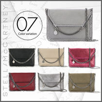 Stella McCartney FALABELLA 3WAY Plain Elegant Style Shoulder Bags
