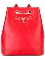 Charlotte Olympia Casual Style Calfskin Plain Other Animal Patterns