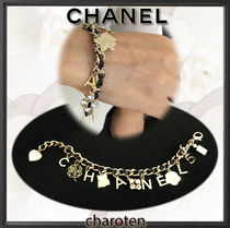 CHANEL ICON Costume Jewelry Chain With Jewels Elegant Style Bracelets