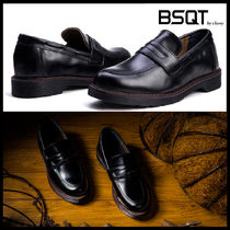 BSQT Loafers Street Style Leather Loafers & Slip-ons