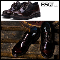 BSQT Street Style Leather Shoes