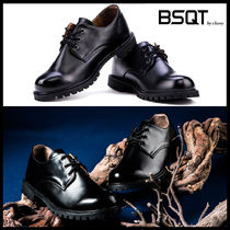 BSQT Street Style Leather Oxfords