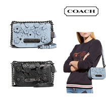 Coach SWAGGER Tea Rose Swagger 20 Mini Carryall Bag (Pale Blue/Black)
