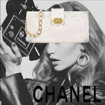 CHANEL Lambskin Party Style Clutches
