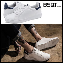 BSQT Street Style Leather Sneakers