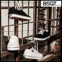 BSQT Casual Style Unisex Street Style Low-Top Sneakers