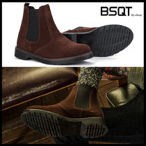 BSQT Casual Style Suede Street Style Shoes