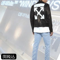Off-White Leather Biker Jackets