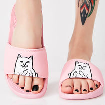 RIPNDIP Unisex Street Style Other Animal Patterns Sport Sandals