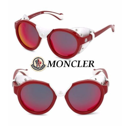 ac4174be7bb MONCLER Sunglasses Round Sunglasses 2 MONCLER Sunglasses Round Sunglasses  ...
