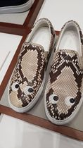 Anya Hindmarch Street Style Leather Slip-On Shoes