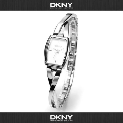 Casual Style Square Quartz Watches Stainless Analog Watches