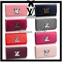 Louis Vuitton TWINSET Leather Long Wallets